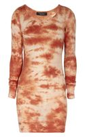 Isabel Marant Tie Dye Print Cotton Jersey Dress