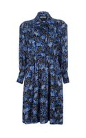 Yves Saint Laurent Vintage Pattern Dress - Lyst