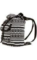 Topshop Ikat Backpack