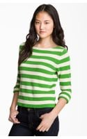 Juicy Couture Sleeve Striped Sweater