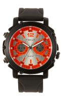 Titanium Neon Marker Analog Watch