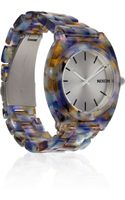 Nixon Time Teller Watercoloreffect Acetate Watch