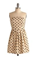 ModCloth Some Like It Spot Dress - Lyst