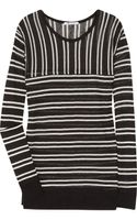 T By Alexander Wang Striped Fineknit Top - Lyst