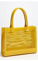 Tory Burch Mini Georgiana Perforated Tote