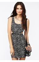 Nasty Gal Wild Stripe Dress