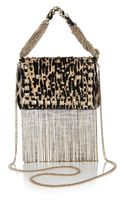 Jimmy Choo Cecile Printed Calf Hair Mini Shoulder Bag