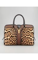 Saint Laurent Leopard Print Chyc Ew Bag