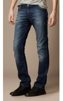 Burberry Steadman Stonewash Slim Fit Jeans