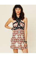 Free People Fp New Romantics Criss Cross Dress