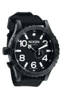 Nixon The 5130 Nylon Strap Watch - Lyst