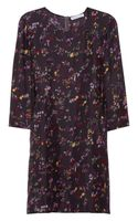 See By Chloé Floralprint Silkcharmeuse Dress - Lyst