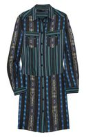 Proenza Schouler Printed Cottontwill Shirt Dress
