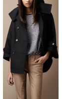 Burberry Brit Wool Blend Coat