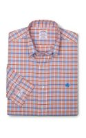 Brooks Brothers Noniron Regular Fit Unbalanced Check Sport Shirt