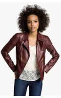 Trouvé Quilted Leather Biker Jacket
