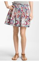 Frenchi® Print Skirt
