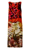 Erdem Adrianna Printed Velvet Dress