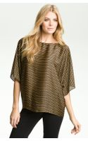 Michael by Michael Kors Chain Print Dolman Sleeve Top