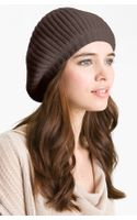 Nordstrom Collection Ribbed Cashmere Beret - Lyst