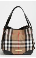 Burberry House Check Tote - Lyst