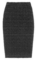Dolce & Gabbana Metallic Bouclé Pencil Skirt - Lyst