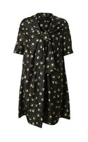 Marc Jacobs Square Printed Silk Dress