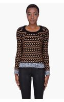 Rag & Bone Bronze Wool Lisbeth Sweater