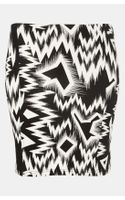 Topshop Crazy Ikat Mini Skirt