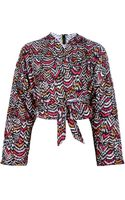 Labour Of Love Printed Kimono Jacket