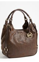 Michael by Michael Kors Bedford Large Shoulder Tote - Lyst