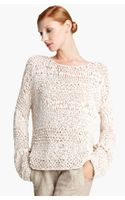 Donna Karan New York Collection Ribbon Knit Sweater