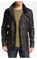 Marc By Marc Jacobs Leather Field Jacket