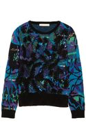 Vanessa Bruno Embellished Jacquard Sweater