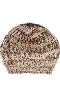 Missoni Knitted Wool Beanie - Lyst