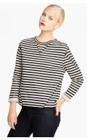 Marc By Marc Jacobs Ben Stripe Sweatshirt