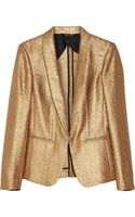Rag & Bone Metallic Brocade Tuxedo Jacket