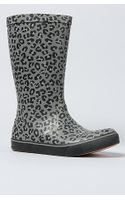 Vans The Rainfall Boot in Charcoal and Black Leopard - Lyst