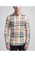 Burberry Brit New Classic Check Buttondown Shirt