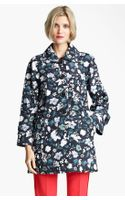 Marc Jacobs Flower Butterfly Print Coat - Lyst
