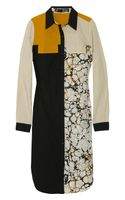 Proenza Schouler Printed Cotton Shirt Dress