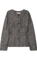 Vanessa Bruno Bouclé Wool-blend Jacket - Lyst