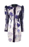 Lanvin Printed Coat Dress