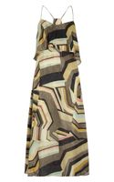 Thakoon Addition Printed Silk Maxi Dress