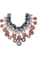 Erickson Beamon Modern Mughal 22karat Gold Plated Swarovski Crystal Necklace - Lyst