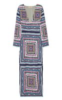 Mara Hoffman Printed Crepe Maxi Dress