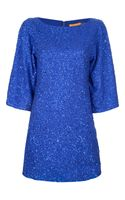 Alice + Olivia Lari Bell Sequin Dress - Lyst