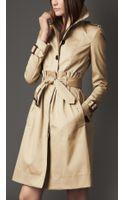 Burberry Tuck Waist Trench Coat