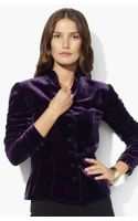 Lauren by Ralph Lauren Velvet Jacket