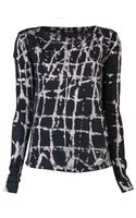 Kelly Wearstler Batik Cage Jumanji Top - Lyst